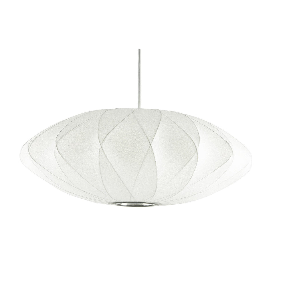 Replica george nelson bubble lamp criss cross saucer pendant light george nelson bubble lamp criss cross saucer pendant light white 40cm or 63cm alpha lighting mozeypictures Gallery