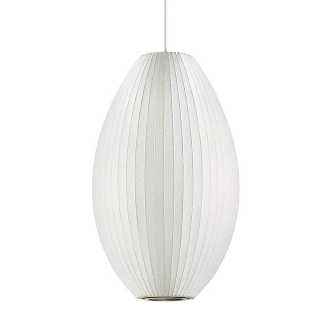George Nelson Cigar Lamp Pendant Light 33cm - Alpha Lighting & Electrics