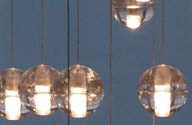 Replica Bocci LED Pendant Light 14.10 Clear Crystal