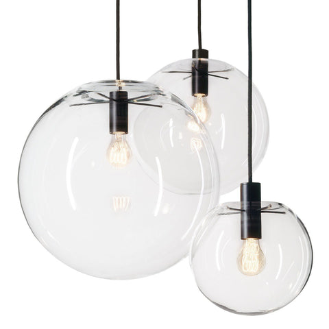 Selene Pendant Glass Light by Sandra Lidner - Alpha Lighting & Electrics