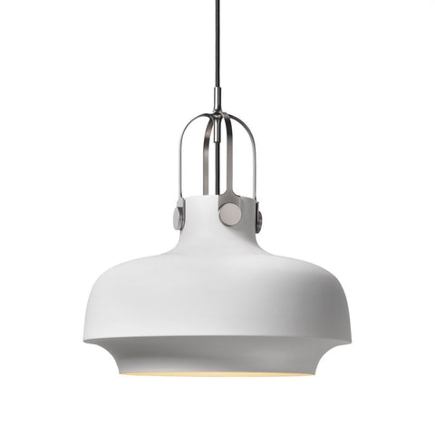 Copenhagen Pendant Light by &tradition in Black or White - Alpha Lighting & Electrics