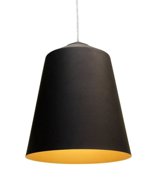 Corinna Warm Circus Pendant Lamp in Black or White in 36cm - Alpha Lighting & Electrics