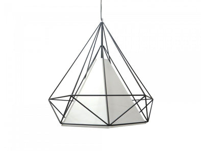 Himmeli Pendant Light Black Carbon Steel by Roll & Hill - Alpha Lighting & Electrics