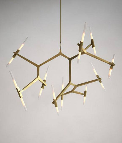 Replica Agnes 18 Chandelier by Lindsey Adelman for Roll & Hill