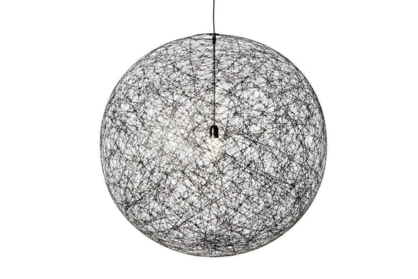 Replica Moooi Random Pendant Lamp Light Cane in White or Black | Alpha Lighting & Electrics