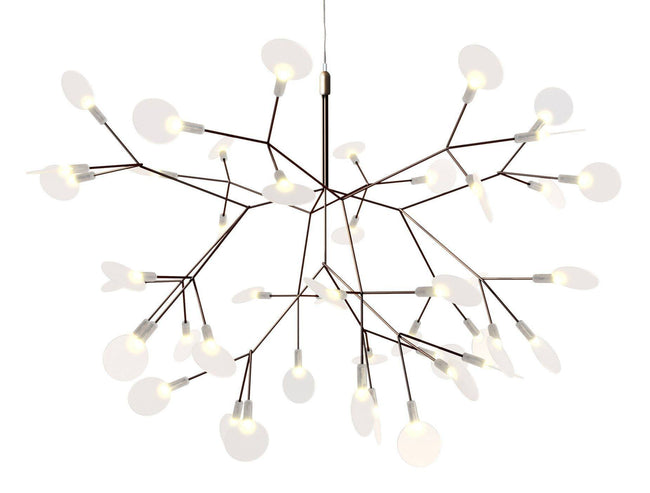 Moooi Heracleum Suspension Light in Copper by Bertjan Pot 72cm - Alpha Lighting & Electrics
