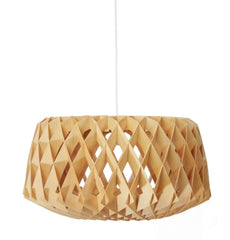 Image of Replica Tuukka Halonen Pilke Pendant Light in Black White or Natural Birch 60cm