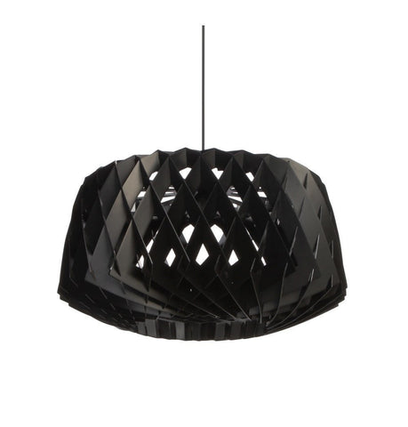 Tuukka Halonen Pilke Pendant Light in Black White or Natural Birch 60cm - Alpha Lighting & Electrics