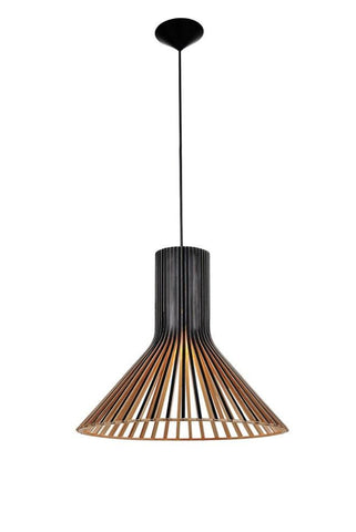 Secto Design Seppo Koho Puncto Pendant Light in White Black or Natural 45cm - Alpha Lighting & Electrics