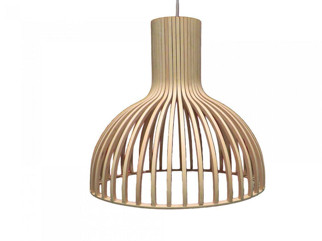 Secto Design Seppo Koho Victo Pendant Light Natural in 46cm - Alpha Lighting & Electrics