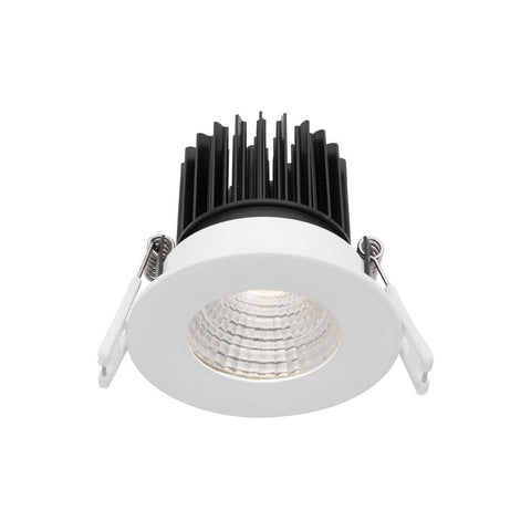 Mercator Gizmo 12W Fixed Dimmable LED Downlight White Frame