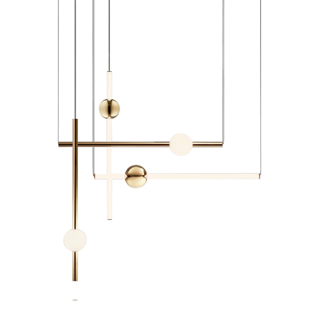 Axis Modular-5 LED Pendant