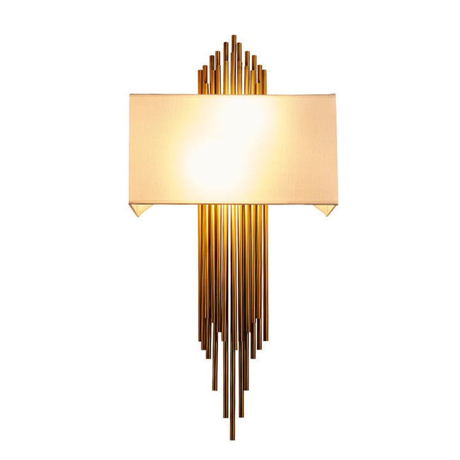 Replica Brubeck Wall Sconce with Fabric Shade
