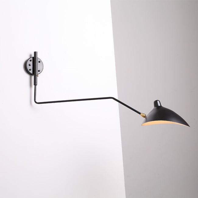 Replica Serge Mouille OneArm Sconce Wall Lamp