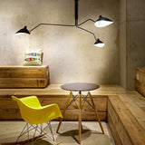 Replica Three Arm Ceiling Pendant by Serge Mouille