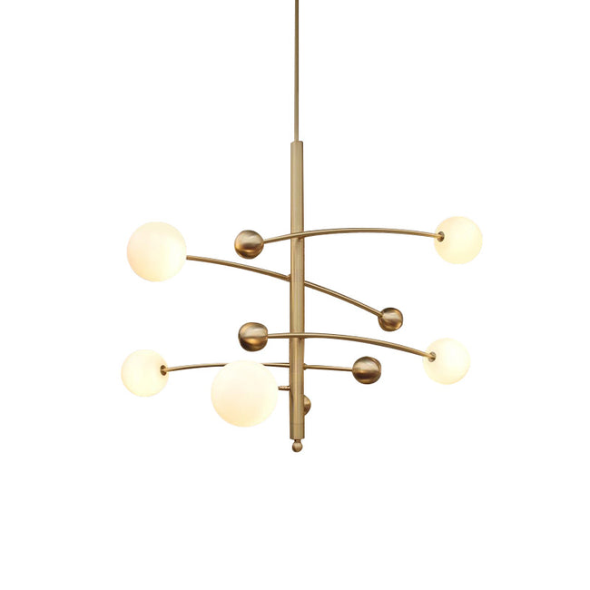 Kiare 5 Arm Chandelier