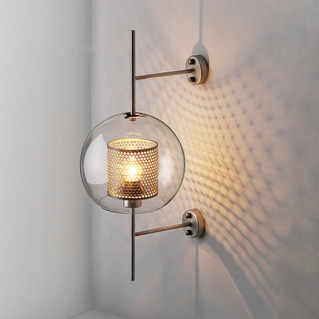 Fior Blown Glass Wall Lamp