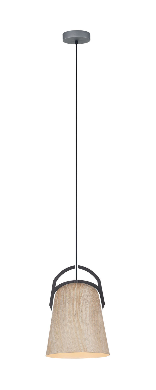 CLA Lighting Legna Natural Oak Ellipse Shaped Pendant