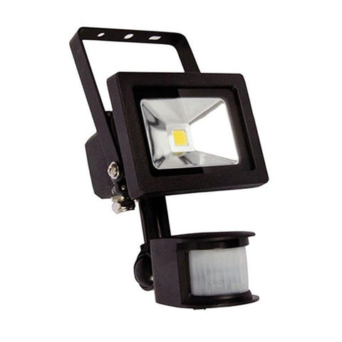 LED Flood Light Outdoor Black or White in 10W or 20W Foco Oriel Lighting
