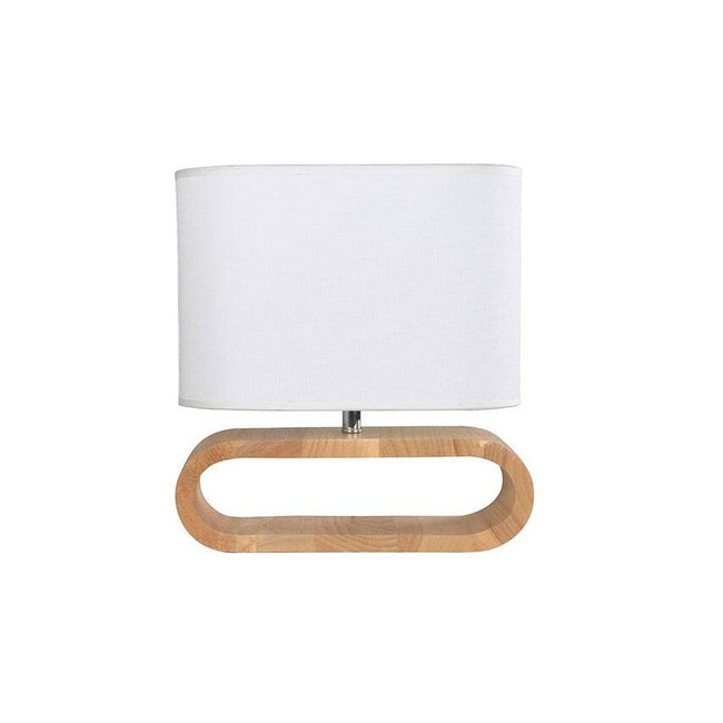 CLA Lighting Lotus Blonde Wood Table Lamp