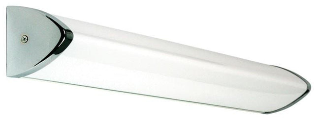 LED Vanity Bathroom Wall Light in Chrome and Opal 14W or 24W Lineum Oriel Lighting - Alpha Lighting & Electrics