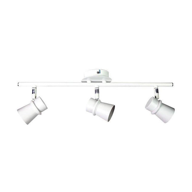 LED Spot Light Triple Adjustable in Bronze or White 50cm Yarra Oriel Lighting - Alpha Lighting & Electrics