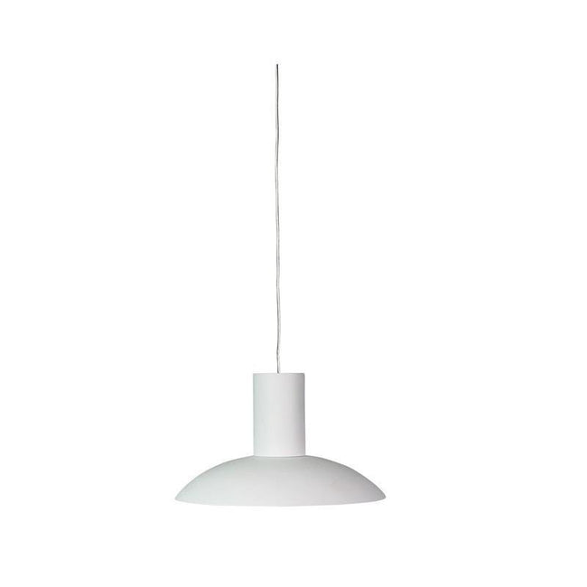 LED Pendant Light Black or White 8W in 3000K 23cm Curva Oriel Lighting - Alpha Lighting & Electrics