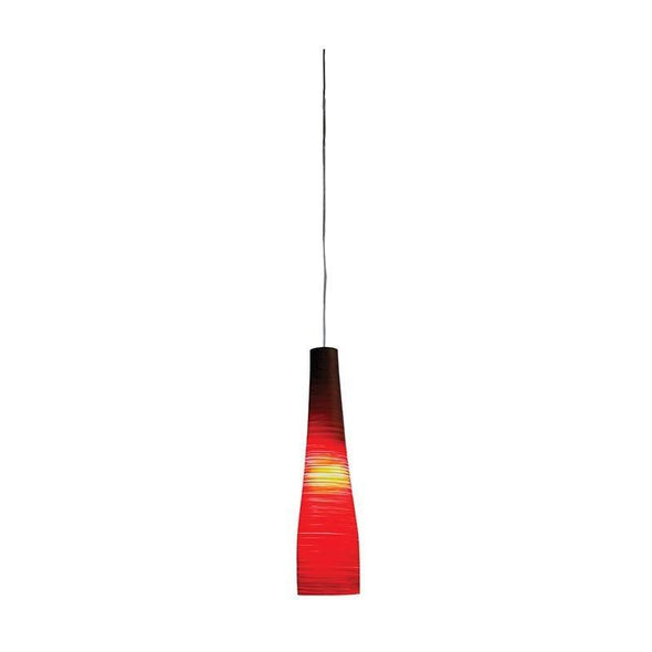 Pendant Light in Frost White Red or Silver E27 41cm or 50cm Meri Oriel Lighting - Alpha Lighting & Electrics