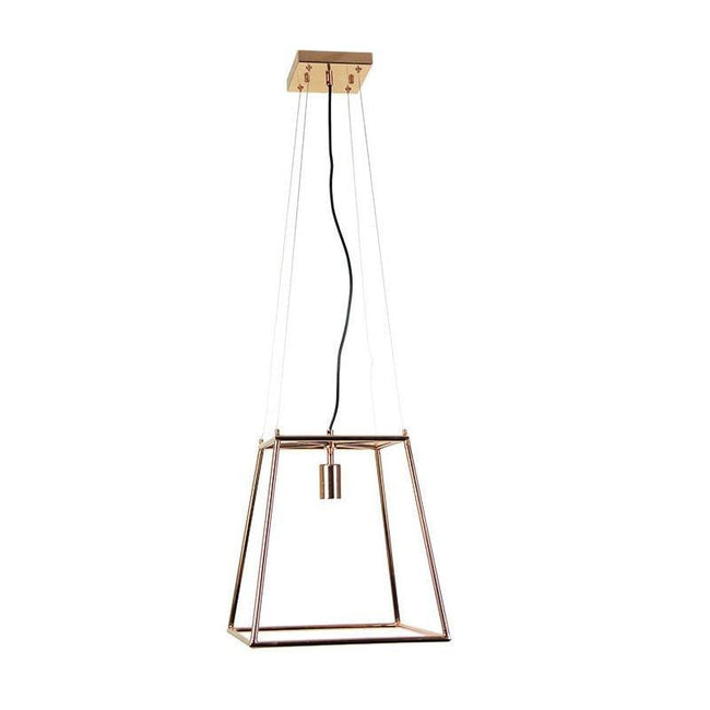 Pendant Light in Black or Copper E27 37cm James Oriel Lighting - Alpha Lighting & Electrics