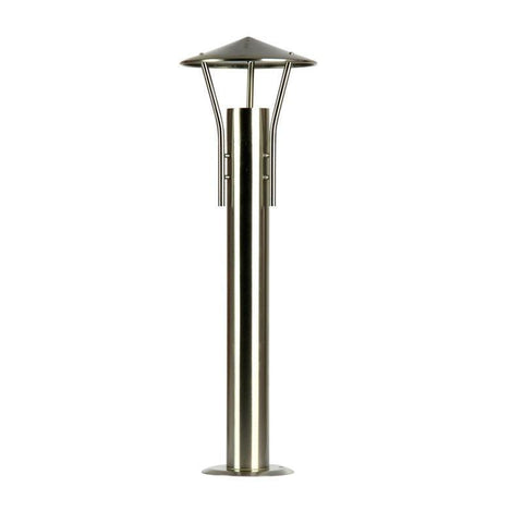 Post Bollard Outdoor Stainless Steel GU10 in 59cm Tresco Oriel Lighting - Alpha Lighting & Electrics