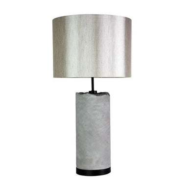 Table Lamp E27 in 72cm Pilos Oriel Lighting - Alpha Lighting & Electrics