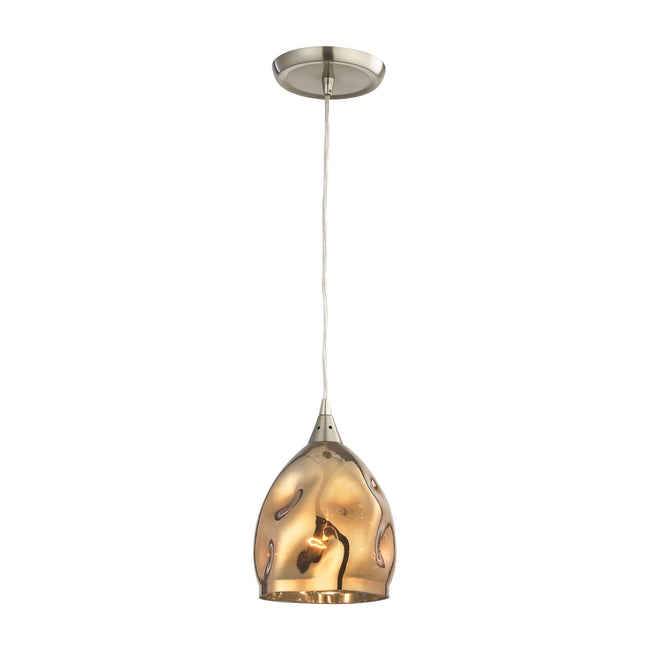 CLA Lighting Ordito Ellipse Glass Pendant