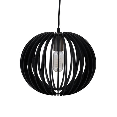 PUFFIN-30 30cm Timber 1.5M Pendant 240V - E27