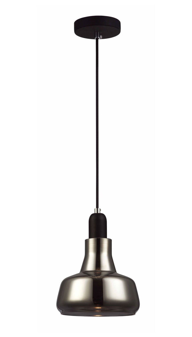CLA Lighting Penola GU10 Smoke Glass Pendant