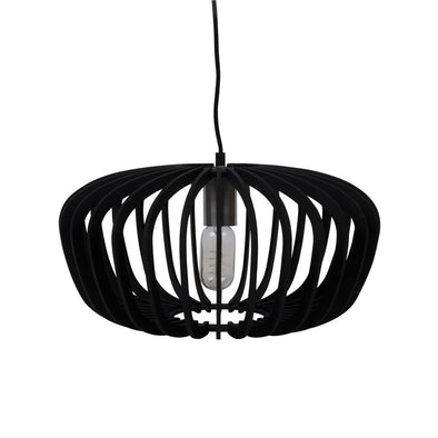 ROBIN-40 40cm Timber Pendant 240V - E27 | Alpha Lighting & Electrics
