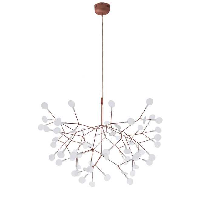 Replica Heracleum Suspension Light in Copper or Black 72cm
