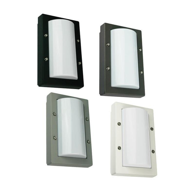Senza Mini Premium Powdercoated Wall Light IP65 Oriel Lighting | Alpha Lighting & Electrics