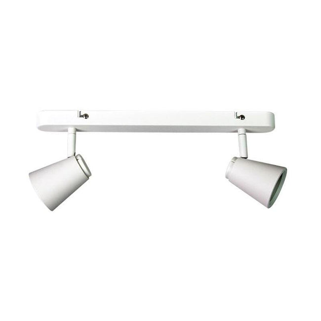 Spot Light Twin Bar White GU10 in 40cm Zoom Oriel Lighting - Alpha Lighting & Electrics