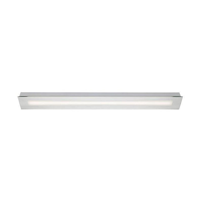 LED Vanity Bathroom Wall Light Clear 14W or 24W in 4000K Solus Oriel Lighting - Alpha Lighting & Electrics