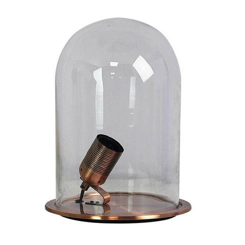 Table Lamp Antique Brass or Antique Copper E27 in 29cm Franklin Oriel Lighting - Alpha Lighting & Electrics