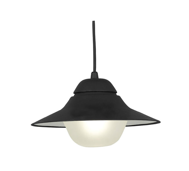 CLA Lighting Spy Exterior Pendant Aluminium in White or Black