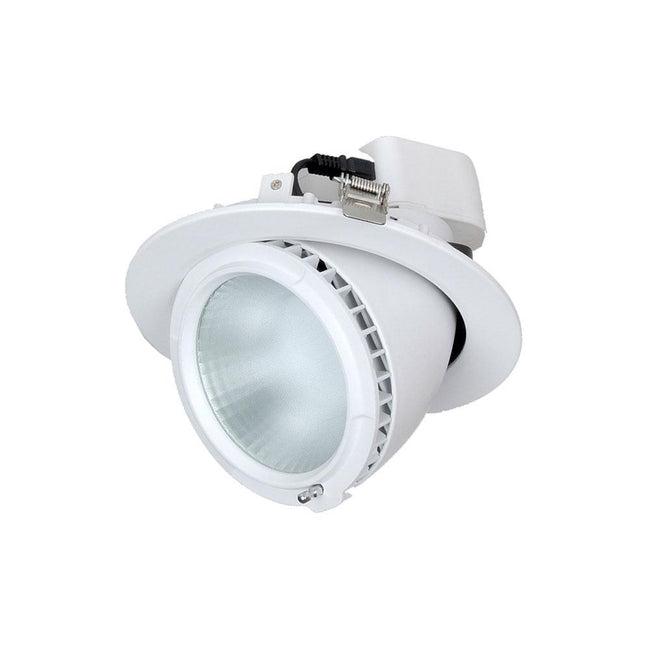 CLA Lighting Shop1A 38W Adjustable LED Downlight Warm White