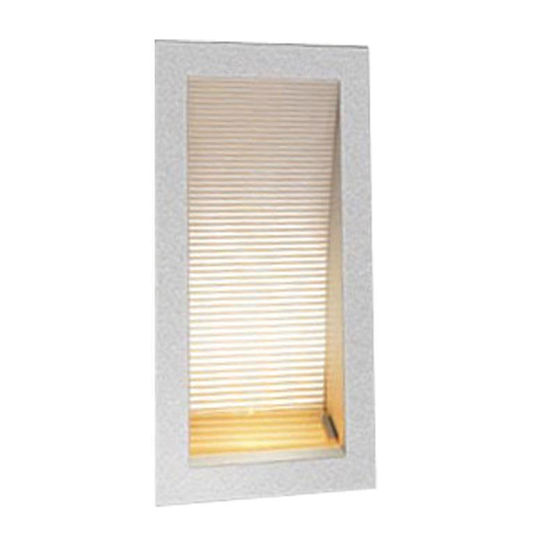 Led wall light recessed silver 1w in 3000k 17cm linea oriel lighting led wall light recessed silver 1w in 3000k 17cm linea oriel lighting alpha lighting aloadofball Images