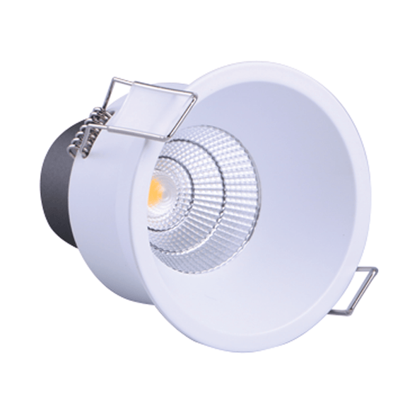 Vibe Lighting 11W LED Deep Recessed Downlight 3000K Warm White - White