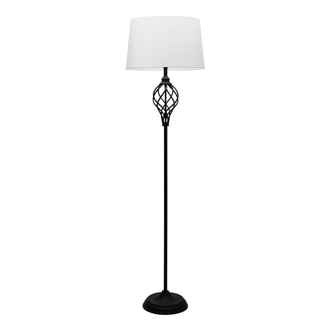 Mercator Valencia Floor Lamp Matt Black