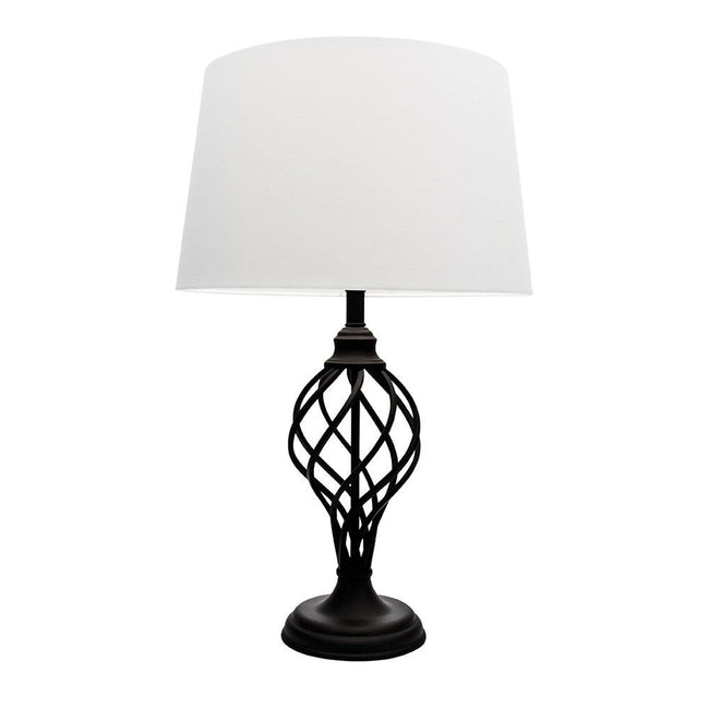 Mercator Valencia Table Lamp Matt Black