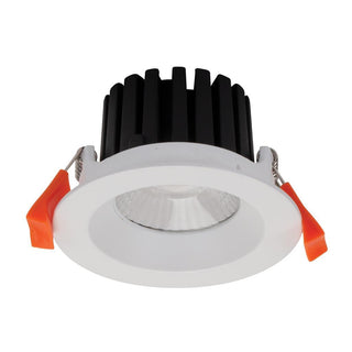 Domus Lighting AQUA-10 Round 10W LED Dimmable Downlight IP65 - Satin White Frame