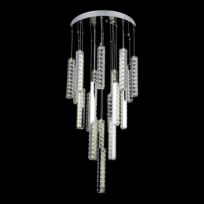 Domus Lighting Arctic Small LED Pendant Crystal Light GU10