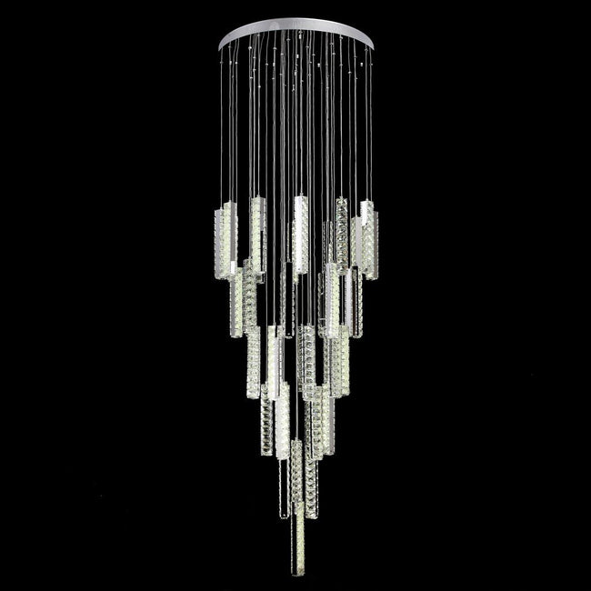 Domus Lighting Arctic Large LED Pendant Crystal Light GU10