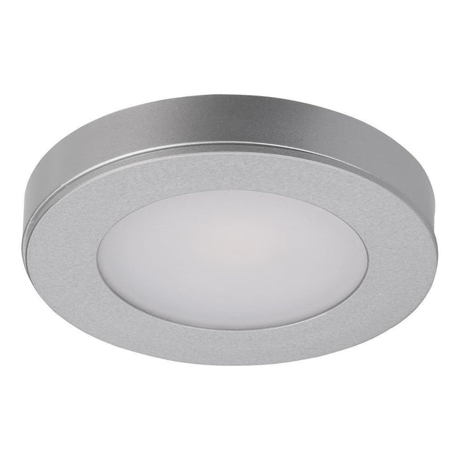 LED Cabinet Light 3.6W in Silver or White w 3000K or 5000K Astra Domus Lighting | Alpha Lighting & Electrics